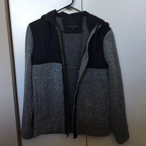 Men's banana republic zip up hoodie